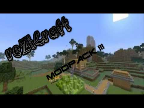 Minecraft 1.6.4|ModPack|reZiCraft|