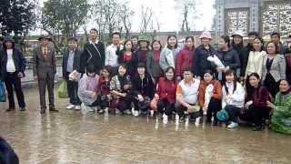Trường Việt Hòa du xuân Bái Đính 8-3