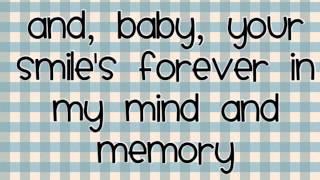 Thinking out loud - Ed Sheeran - lyrics