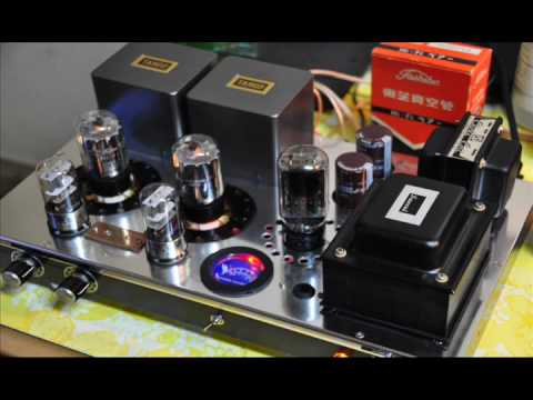 6L6GC Hi-Fi SE Vacuum Tube Stereo Amplifier Music Videos