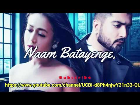 Jinke Liye (lyrics)  Neha Kakkar Feat. Jaani B Praak Arvindr Khaira Bhushan Kumar - Love You