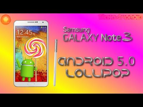 Galaxy Note 3. problemi con Android 5.0 Lollipop
