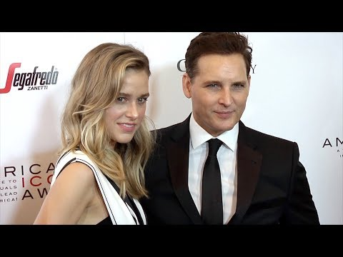 """Lily Anne Harrison And Peter Facinelli """"American Icon Awards"""" Gala Red Carpet"""