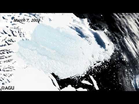2002 Larsen-B Ice Shelf Collapse