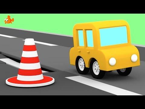 TARMAC TRUCKS! - Cartoon Cars - Road Repair Cartoons for Children - Videos for Kids