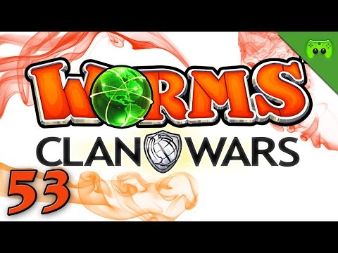 WORMS CLAN WARS # 53 - Wormardt und Wormica im Känguruland «» Let's Play Worms Clan Wars | HD