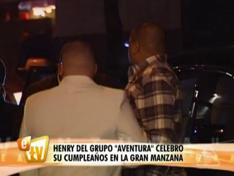 El cumpleaños de Henry Santos