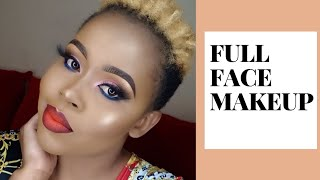HOW TO DO A FULL FACE MAKEUP TUTORIAL/ BEGINNER FRIENDLY