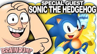 Special Guest SONIC THE HEDGEHOG Discusses Upcoming Movie! - Brain Dump