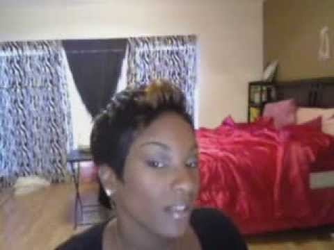 *halle berry*  short hair style *how to* pixie cut