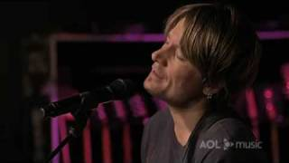 Keith Urban Video - 'Tonight I Wanna Cry Sessions' Video Keith Urban AOL Music