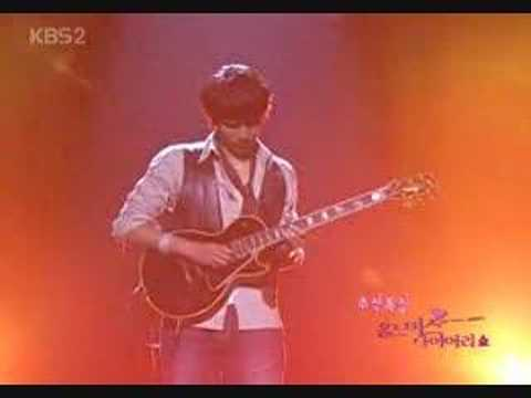 Ji Hyun Woo-Love Story(electric guitar)