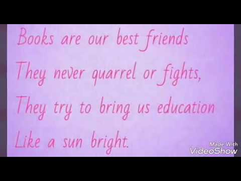 POEM ON BOOKS
