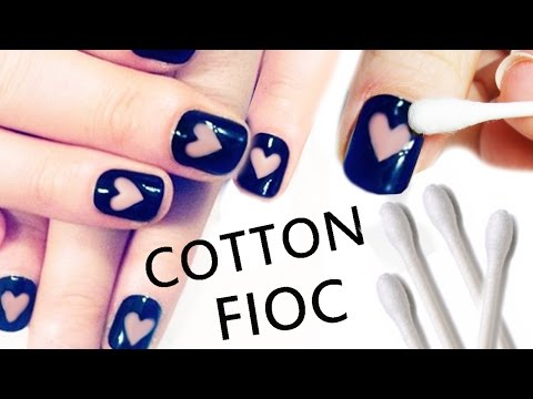 NAIL ART Tutorial FACILISSIMA con Cotton Fioc!