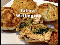 Salmon Wellington a Pie Maker Cheekyricho Cooking Youtube Video recipe. ep. 1,338