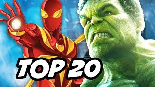 Spider-Man Homecoming TOP 20 Easter Eggs and Things You Missed