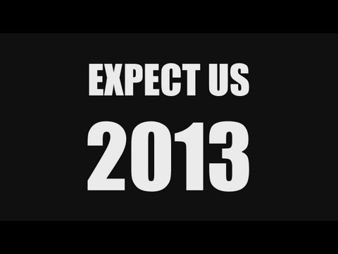 Join #Anonymous in 2013!