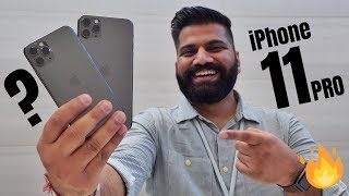 iPhone 11 Pro Max Hands on & First Look - The Triple Camera Monster🔥🔥🔥