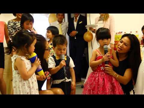 Kenji & Deleigha singing