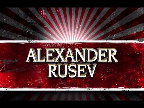 2014: Rusev 2nd New Wwe Theme Song + New Entrance Video - roar Of The Lion ᴴᴰ video