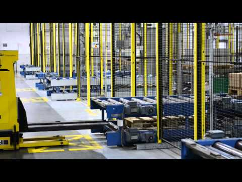 Automated Guided Vehicles at Schur