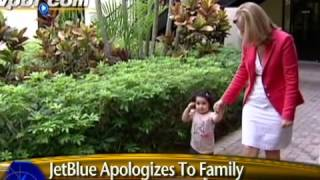 JetBlue apologizing for putting child on no-fly list