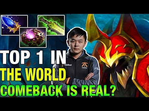 COMEBACK IS REAL? TOP 1 IN THE WORLD MidOne 9364 MMR - Dota 2