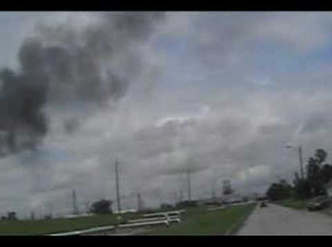 Port Arthur TX refineries / Chemical Plant flares