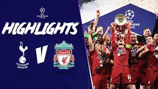 LIVERPOOL CROWNED EUROPEAN CHAMPIONS! | Tottenham 0-2 LFC | Champions League Highlights