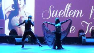 Suellem Morimoto e Tarik | Mercado Persa 2017 | Show de Gala | dança do ventre | belly dance