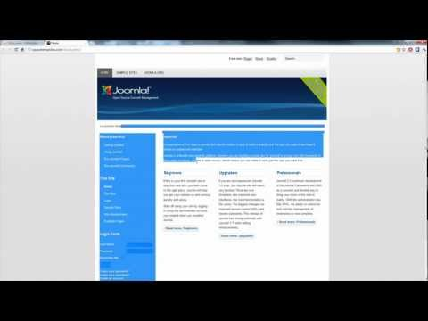 Joomla Backup and Migration - Joomla Tutorials from Opace