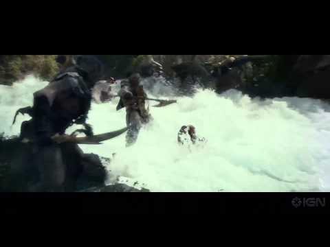 The Hobbit: The Desolation Of Smaug Clip - Barrel Scene Motion Capture video