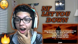 Download Lagu NF - Let You Down REACTION! Gratis STAFABAND