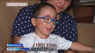 Максим Дульцев, 4 года, детский церебральный паралич