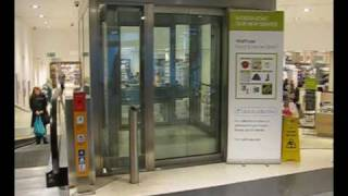Tour of the lifts at Westfield in White city