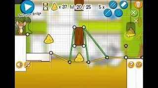 Tom And Jerry Bridge Building Game Walkthrough