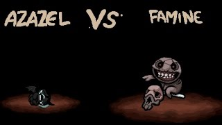 The Binding of Isaac - All Bosses - Famine / Айзек - Все Боссы - Голод