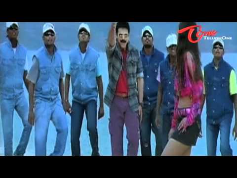 Namo Venkatesa - Nee kallalo Merisindi - Venkatesh - Trisha