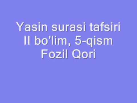 Yasin tafsiri - II bo'lim, 5-qism .wmv