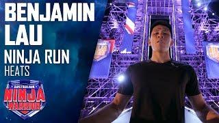 Benjamin Lau is the Furthest Fastest in Heat Five | Australian Ninja Warrior 2019
