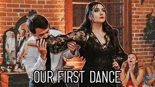 Safiya & Tyler's First Dance To The Addams Family Tango