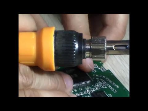 Soldar y reemplazar componentes de tabletas chinas