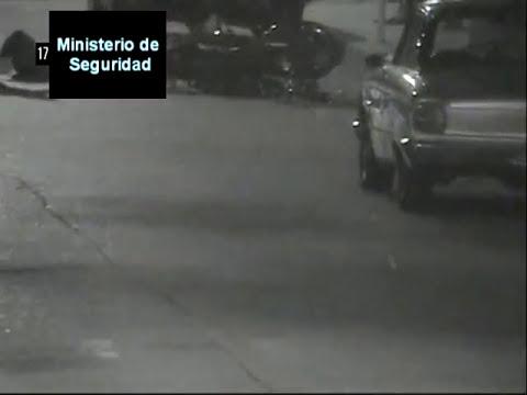Dos accidentes y una golpiza capturados por las cámaras de seguridad de Villa Mercedes