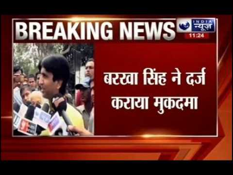 Barkha Singh chairperson of DCW files an FIR against Aam Aadmi Party leader Kumar Vishwas