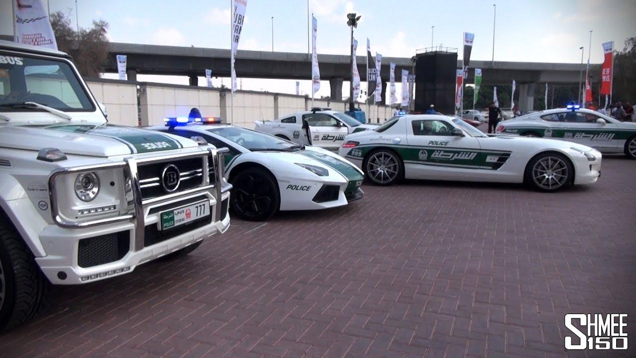 Dubai Police Supercars Brabus B63s Aventador Sls