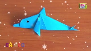 Origami - Gấp Cá Heo - Khối Màu Kỳ Diệu - BinTV