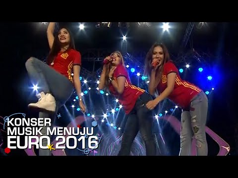 Trio Macan 'Iwak Peyek' Buat Suasana Makin Meriah [Konser Musik EURO] [29 Mei 2016]