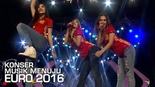 Trio Macan 39 Iwak Peyek 39 Buat Suasana Makin Meriah Konser Musik Euro 29 Mei 2016