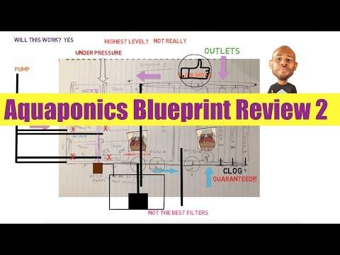 Aquaponics Blueprint Review 2: Ask The Aquaponics God Ep26