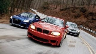 Audi TT RS vs. BMW 1-series M Coupe vs. Infiniti IPL G Coupe - Comparison Test - CAR and DRIVER
